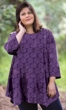 Cotton Jersey Matsin 3/4 Sleeve Tunic