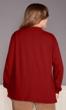 Cotton Jersey Long Sleeve Mock Turtleneck