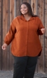 Sale Long Sleeve Oversize Solid Button Up Shirt