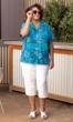 Sale Hibiscus Batik Camp Short Sleeve Button Up Shirt
