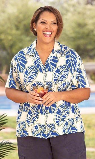 Sale Kirrily Camp Short Sleeve Button Up Shirt