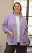 Glenda Crinkle Cotton 3/4 Sleeve Button Up Shirt