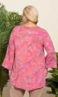 Sale Almeria Crinkle Cotton Long Sleeve Batik Blouse