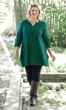 Sale Jersey Henley Solid Long Sleeve Tunic