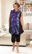 Sale Giulia Batik Swing Sleeveless Tunic