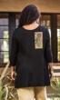 Sale Rona Hand Painted 3/4 Sleeve Tunic