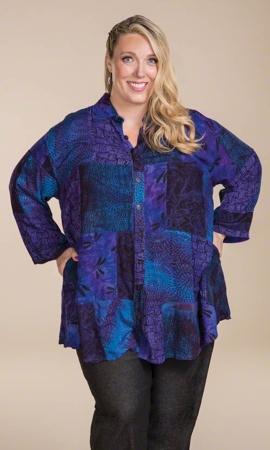 Sundance Swing Bracelet Sleeve Batik Tunic