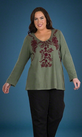 Long Sleeve Palatina Tunic