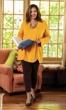 Llana Baby Terry Solid Long Sleeve Tunic