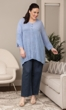 Sale Everly Henley Solid Long Sleeve Cotton Rayon Top