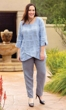 Sale Harmony Linen Long Sleeve Tunic