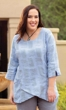 Sale Harmony Linen Long Sleeve Tunic