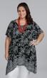 Print 100% Rayon Short Sleeve Leonora Tunic
