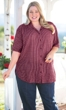Sale Print Cotton Short Sleeve Virginia Shirt