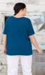 Sale Chrissy Tencel Solid Short Sleeve Top