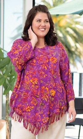 Ruby Bracelet Sleeve Plus Size Top 2X-8X