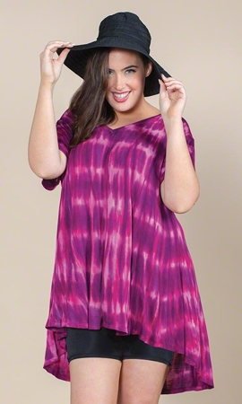 Sara Short Sleeve Plus Size Top 1X-8X