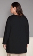 Long Sleeve V Neck Solid Tee