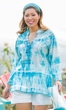 Sale Shyla Embroidered Long Sleeve Tunic