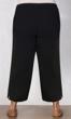 Linen Pull On Wide Leg Plus Size Flood Pants