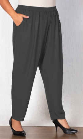 Tailored Leg Rayon Pants