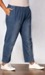 Relaxed Leg Premium Wash Cotton Denim Jeans