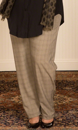 Relaxed Tweed Pants