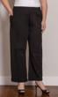 100% Cotton Knit Wide Leg Solid Pants