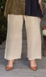 Essential Wide Leg Rayon Solid Pants