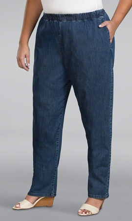 Relaxed Solid Jeans