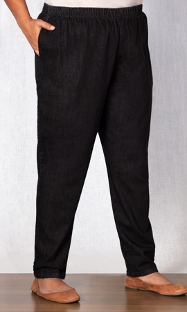 Cotton Tailored Jeans
