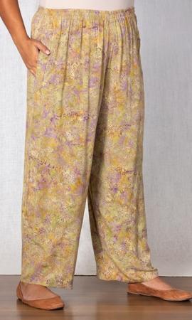 100% Rayon Anacapa Pants