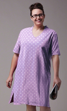 Cotton Ultra Soft Short Sleeve Sleepshirt
