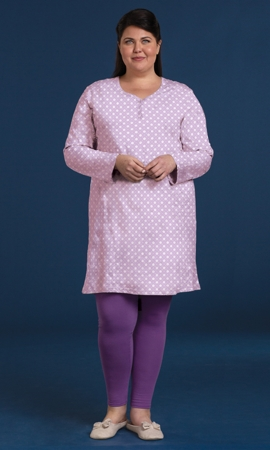 Cotton Ultra Soft Long Sleeve Sleepshirt