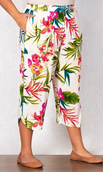 Print Ibiza Crop Pants