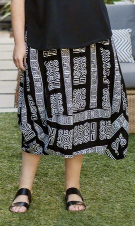 Sale Curie Batik Rayon Skirt