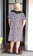 100% Cotton Short Sleeve Round Neck Tegu Dress