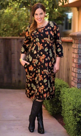 Lallie Long Sleeve Dress