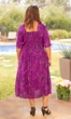 Hand Batik 100% Rayon Short Sleeve Daphne Dress