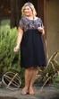 Shelby Short Sleeve Sketch Dress