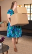 Sale Victoria Pleat Short Sleeve Dress