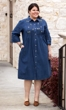 Clementine Long Sleeve Button Up Dress