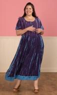 Poeme Maxi Short Sleeve Dress
