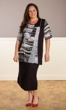 Jersey Pencil Solid Skirt