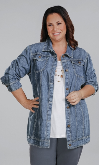 Rydel Long Sleeve Jean Jacket