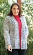 Reversible Front Pleated Long Sleeve Tallin Jacket