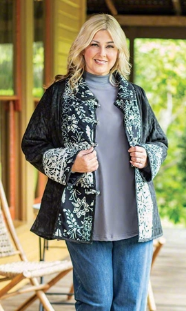 Sale Gia Batik Long Sleeve Jacket