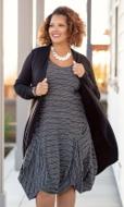 Nyah Drape Solid Long Sleeve Jacket