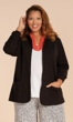 Sale Ruth Solid Long Sleeve Blazer