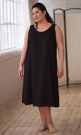 100% Cotton Sleeveless Full Slip Dress